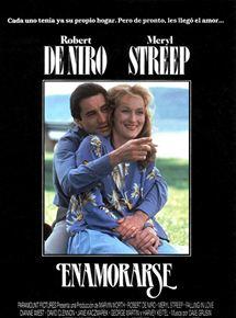 Portada pel·lícula Enoramorarse Robert de Niro i Meryl Streep