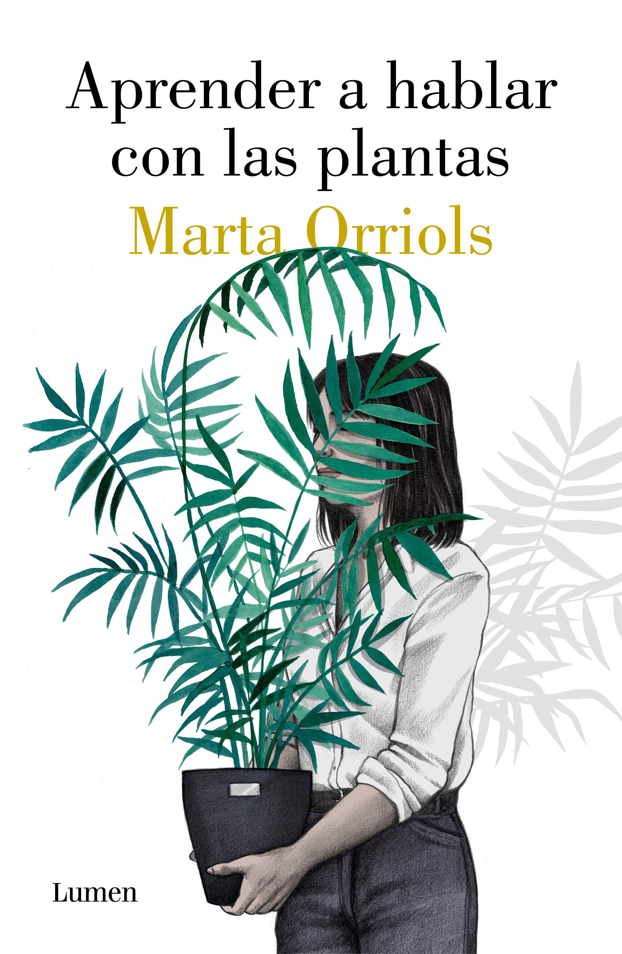 Portada libro Aprender a hablar con las plantas de Marta Orriols
