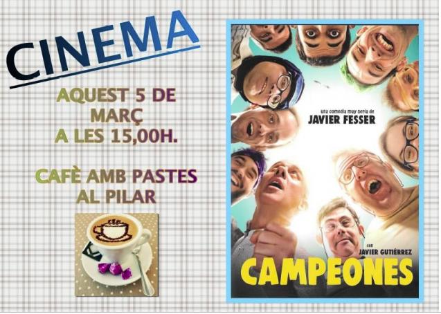 Cartel película Campeones