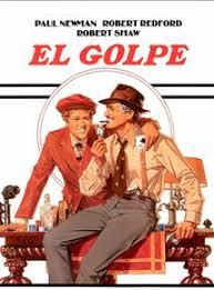 Cartel de la película El Golpe, ganadora de 7 Oscars
